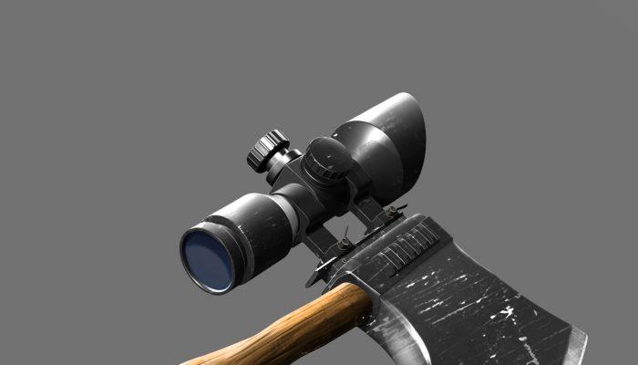 Sniper Axe