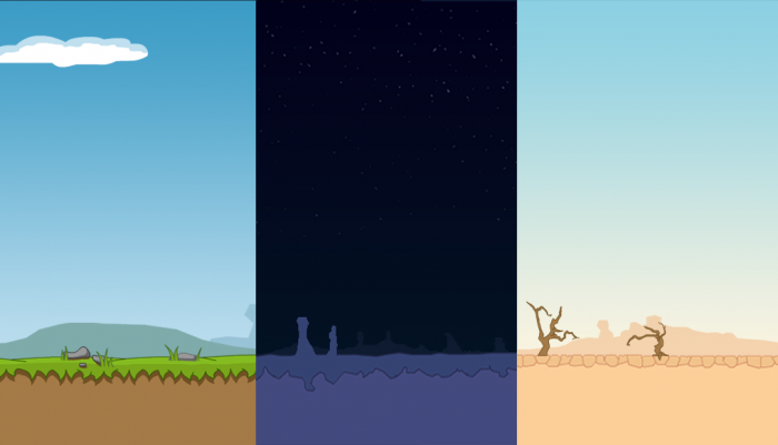Pack of 3 backgrounds
