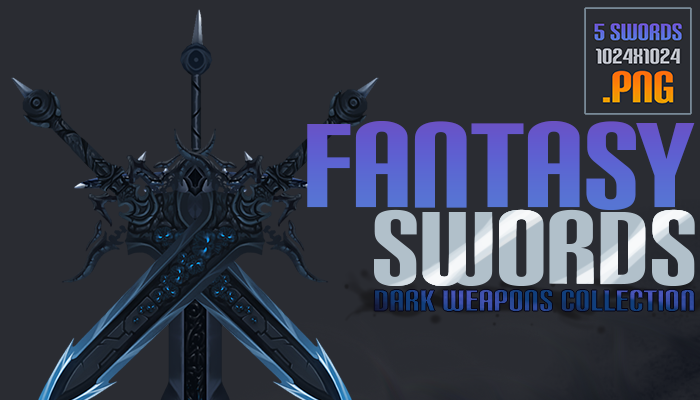 Fantasy Swords – Dark Weapons Collection