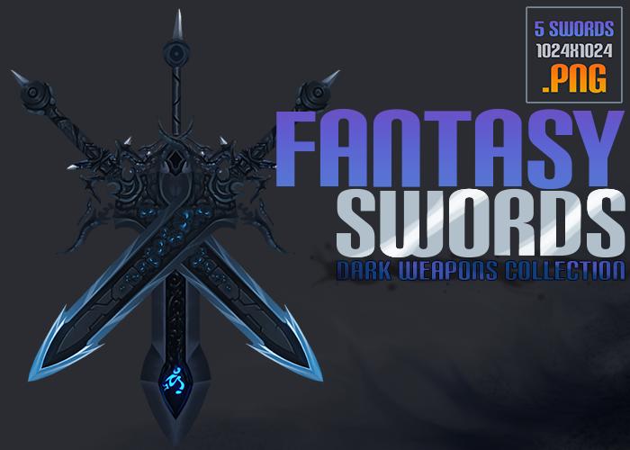 Fantasy Swords – Dark Weapons Collection