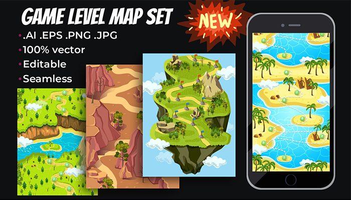 Game Level Map Set II