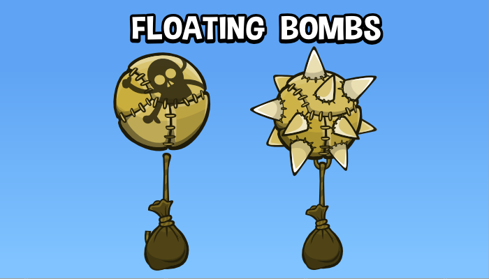 Floating bombs