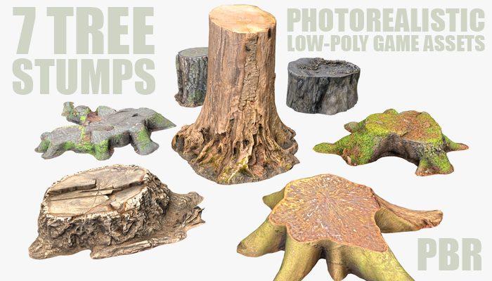 7 TREE STUMP