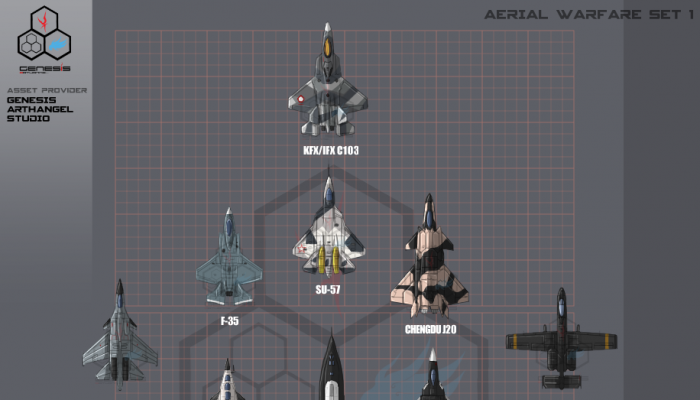 Aerial Warfare Set 1