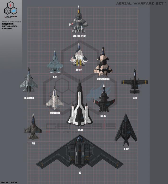Aerial Warfare Set 1