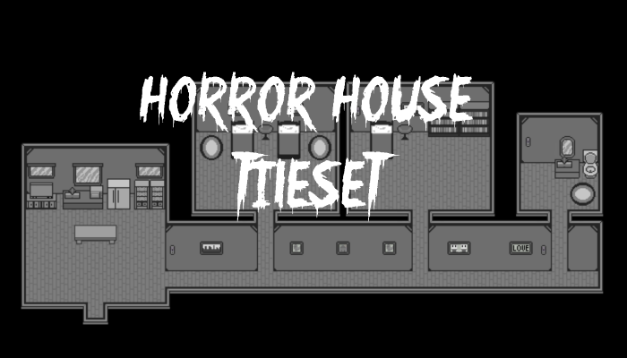Horror House Tileset
