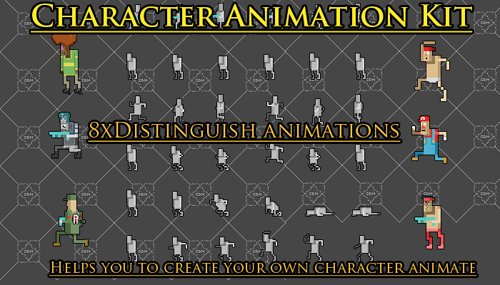 Character Animation Pack/kit