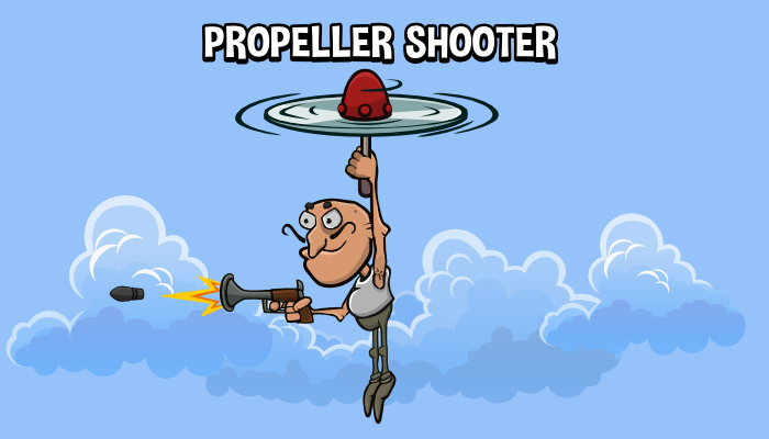 Animated propeller shooter