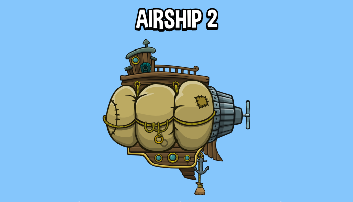 Animated airship 2
