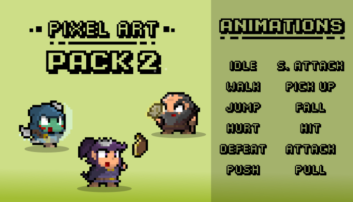 PIXEL ART PACK 2