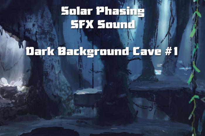 Dark Background Cave 1