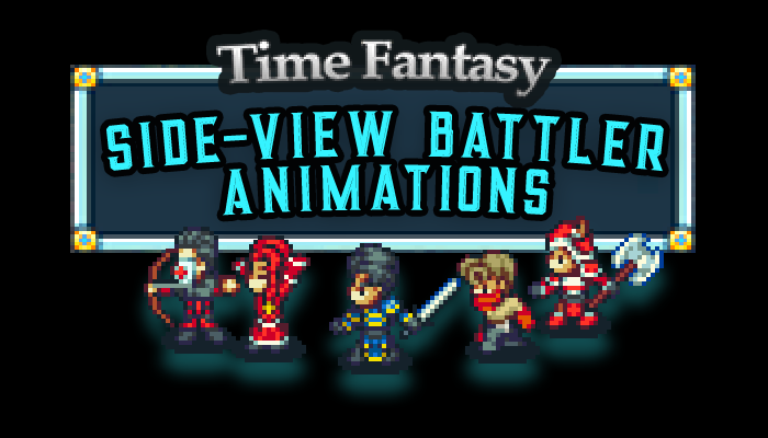 Side-View Animated RPG Battlers