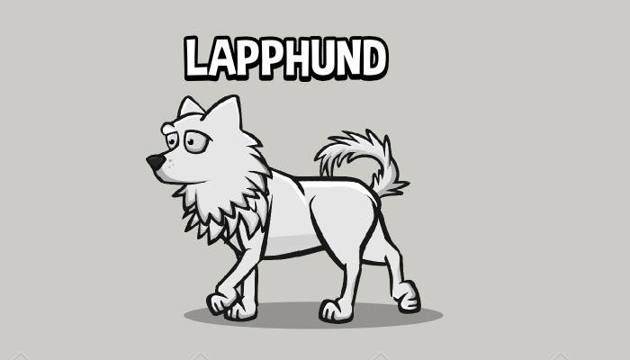 Animated lapphund