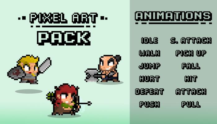 PIXEL ART PACK