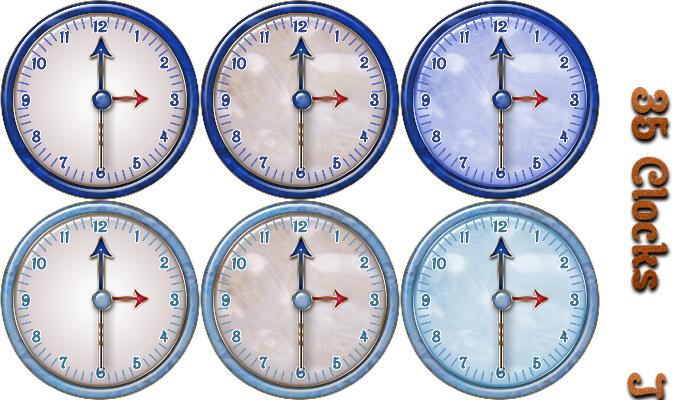 Analog Clock Asset Kit1