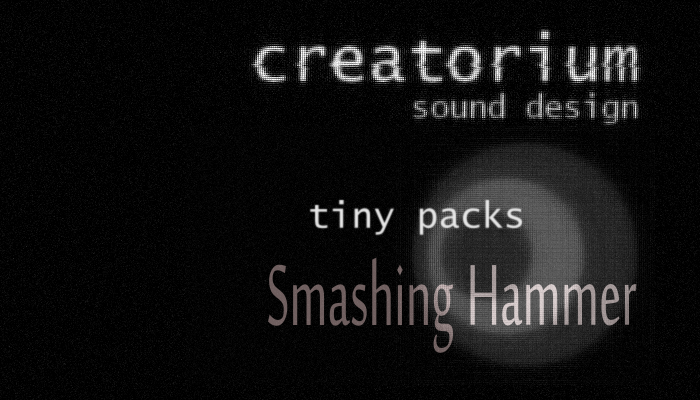 Creatorium tiny packs – Smashing hammer