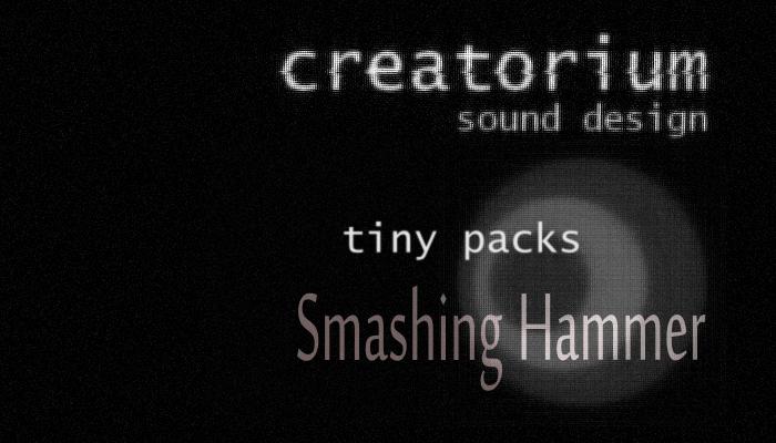 Creatorium tiny packs – Smashing hammer