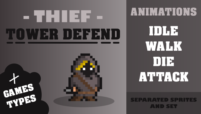 THIEF TOWER DEFEND