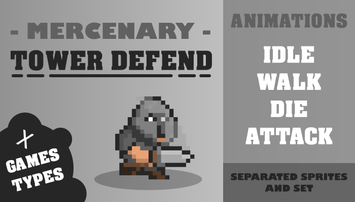 MERCENARY TOWER DEFEND