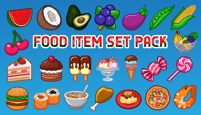60 Food Items