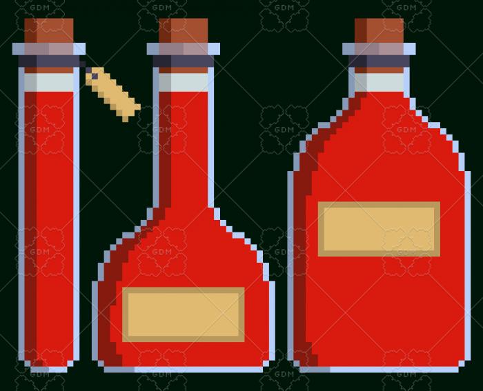 Simple Stylized Potion Sets
