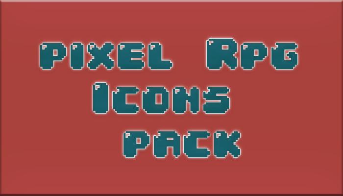 Pixel Rpg Icons Pack