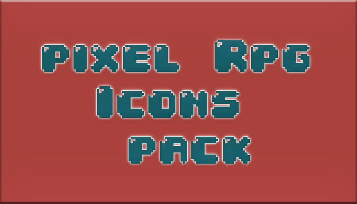 Pixel Rpg Icons Pack