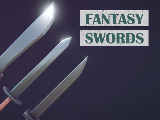 Fantasy Swords (PBR)