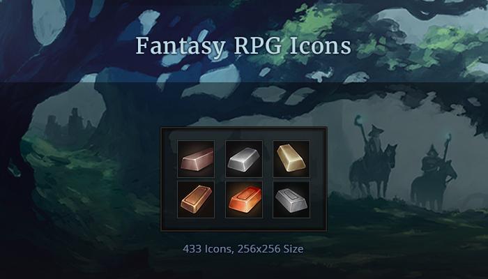 Fantasy RPG Icons