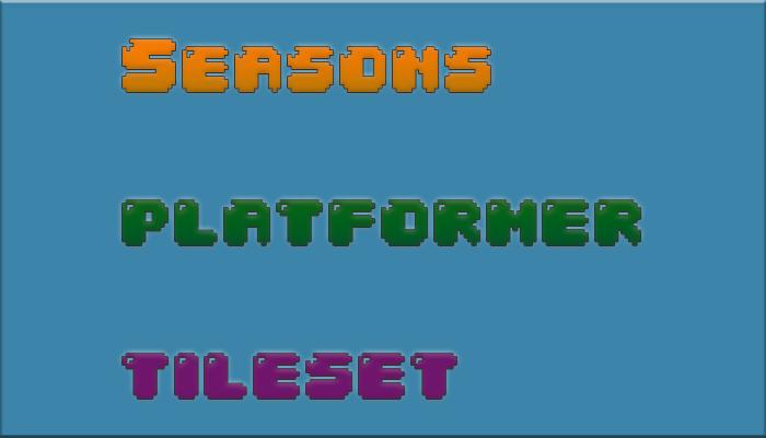 Seasons Platformer Tileset