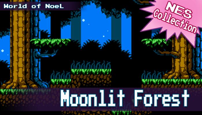 NES Moonlit Forest