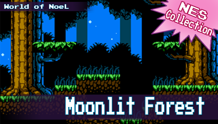 NES Moonlit Forest