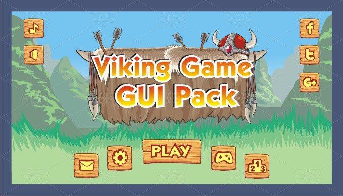 viking game gui pack