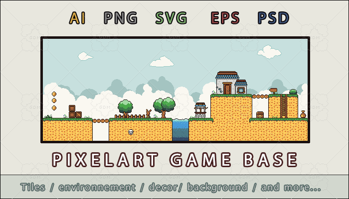 Pixelart base game 16×16