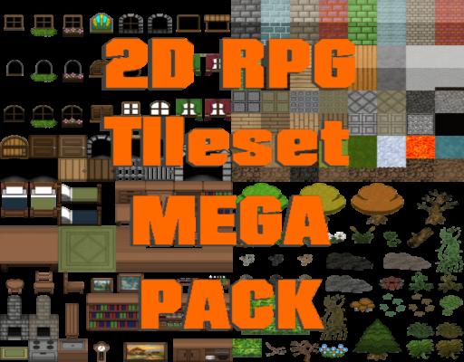 2D RPG Tileset Mega Pack