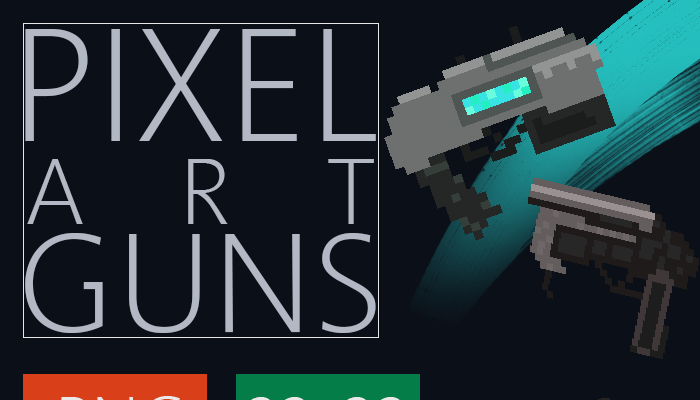 Pixel Art Guns