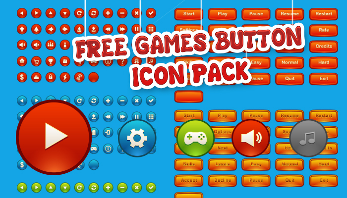 Free Game Button Pack 1