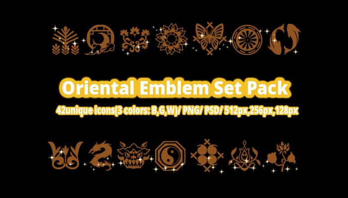 Oriental Emblem Set Pack