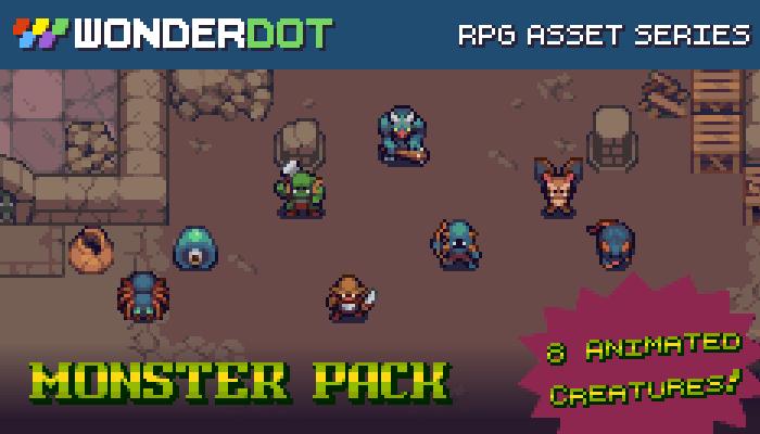 RPG Monster Pack – Animated