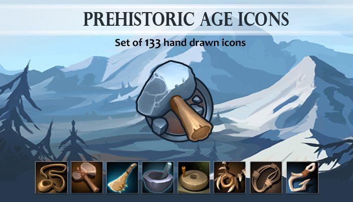 Prehistoric Age Icons
