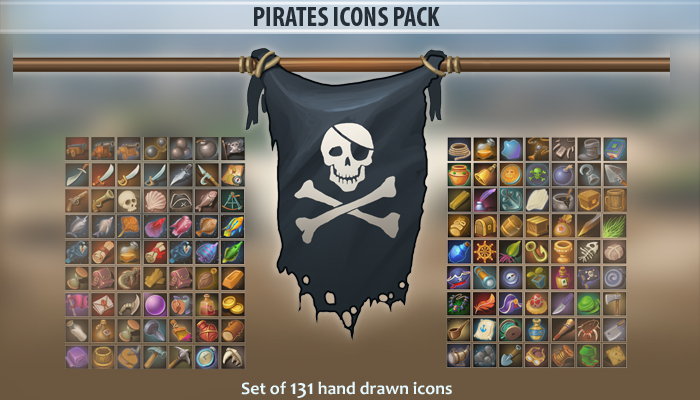 Pirates Icons Pack
