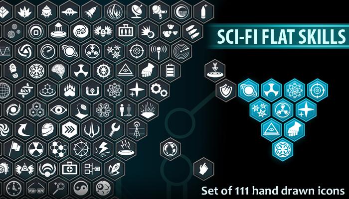 Sci-Fi Flat Skills