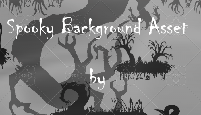 Spooky Background Asset