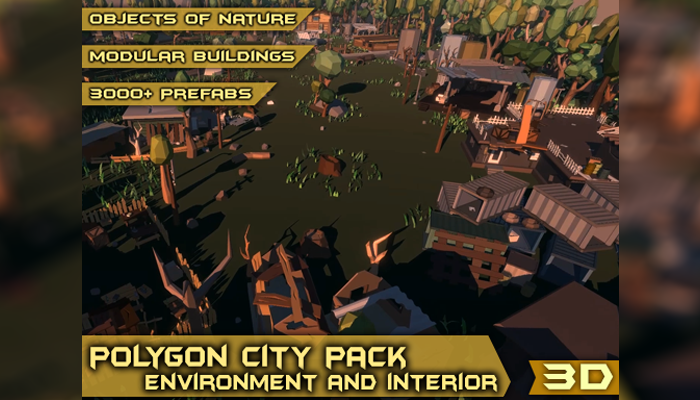 Polygon City Pack – Environment and Interior