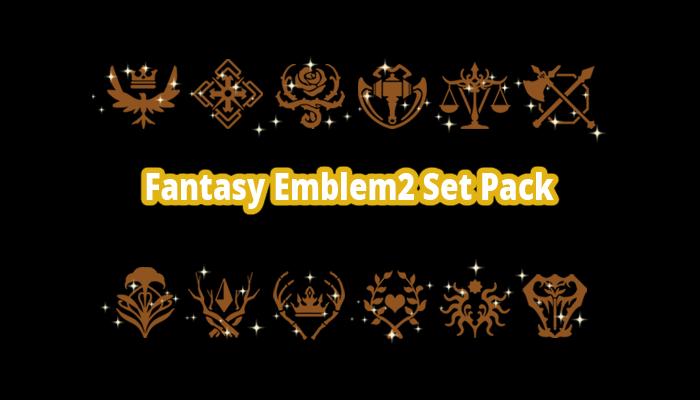 Fantasy Emblem2 Set Pack