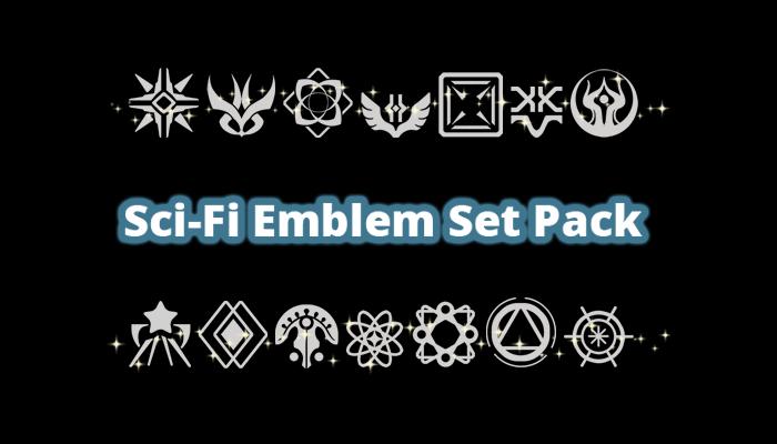Sci-Fi Emblem Set Pack