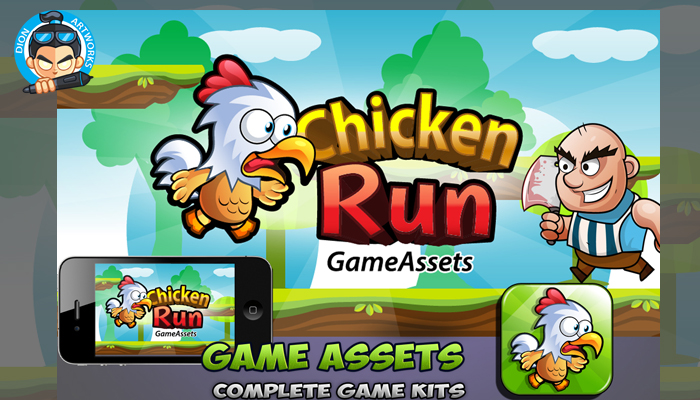 Chicken Rung Game Assets