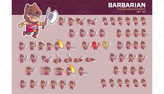 BARBARIAN SPRITE