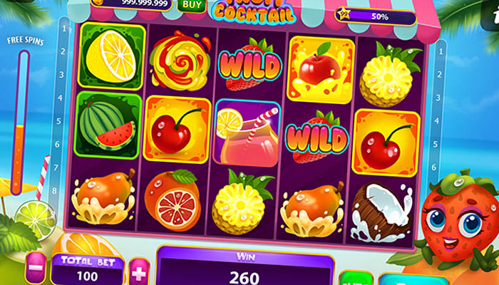 Fruit cocktail slot game Kit