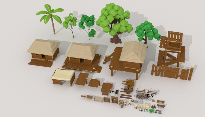 Pirate Village Pack